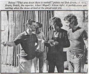 Albert Mispel (far right) (Image: http://www.mispelit.com/glebe/index.html)