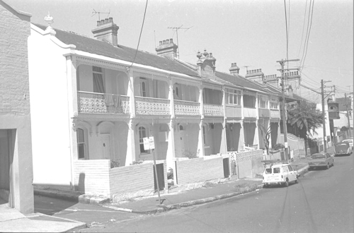 Avoca Terrace in the 1970s (Image: Bernard Smith Collection)