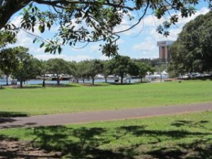 Bicentennial Park, viewed from Jubilee Park