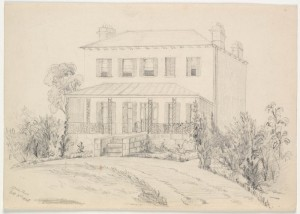 Bidura: 1865 Sketch State Library of NSW