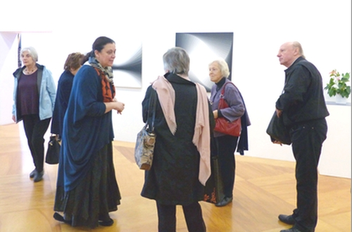 Glebe Society members attending the Chippendale Creative Precinct event. (Image: Katharine Vernon)