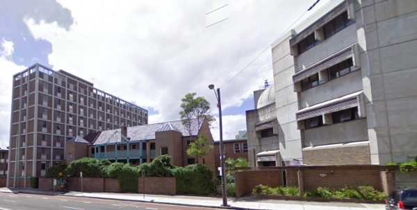 Sydney University buildings on City Road (Source: Google Streetview)