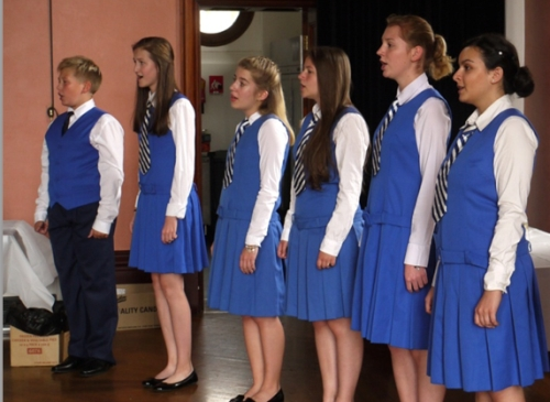 The Czech Philharmonic Children's Choir performing at Glebe Town Hall. Image: David Macintosh)