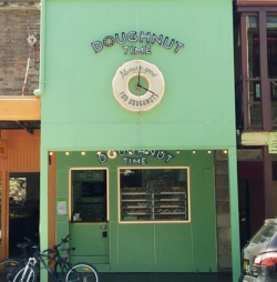 Doughnut Time, 25 Glebe Point Rd. (image: Alice Simpson-Young)