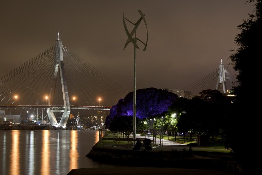 Earth v Sky art installation at Glebe Point