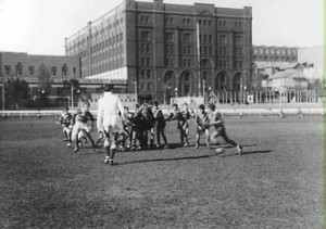 Football final at Wentworth Park, 1956 City of Sydney Archives