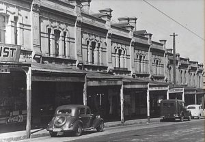 Glebe Point Road between St Johns Rd and Norton St, 1953 City of Sydney Archives (SCR6303)