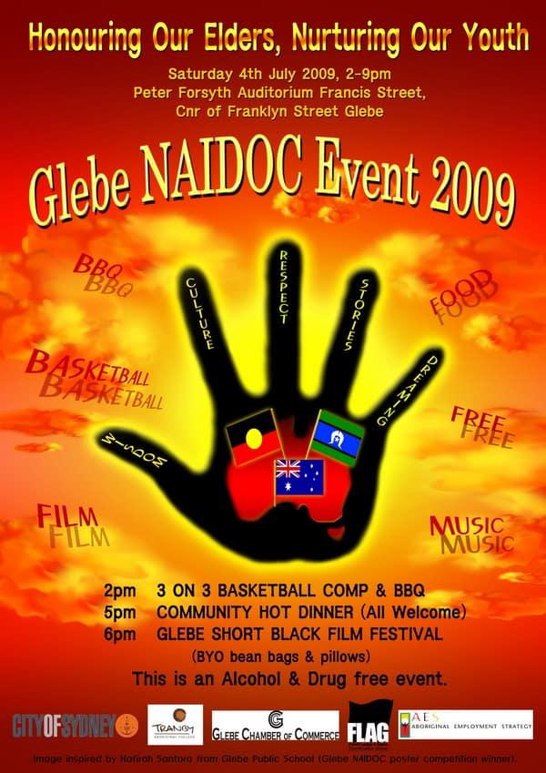 Glebe 09 NAIDOC poster