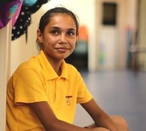 Shandi McEwen from Glebe Public School. (Photo: Kate Geraghty, SMH)