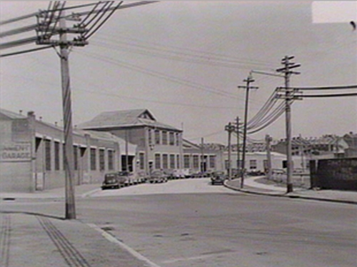 The Government Motor Garage at 7 Bay St Glebe in 1953 (image: State Library of NSW)