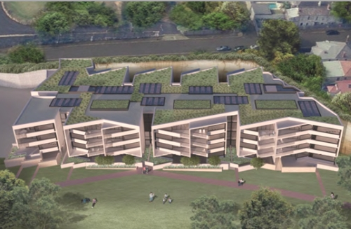 Building 4A proposed for Harold Park (Image: Mirvac)