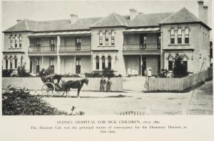 Sydney Hospital for Sick Children. Photo: Royal Alexandra Hospital for Children Archives