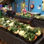 GYS fruit and vegetable deliveries: an innovation enabling GYS to continue to support the local community (Photo: Michael Sales)