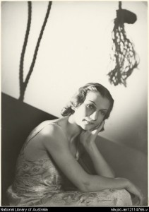 Hélène Kirsova by Max Dupain, 1936-7, National Library of Australia, nla.gov.au/nla.pic-an12114766