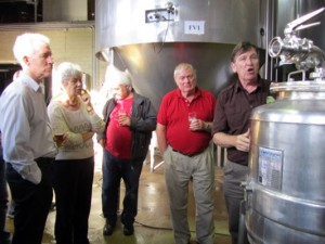 The brewer explains the finer points