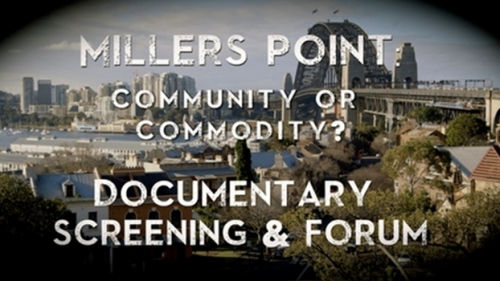 A still from the documentary Millers Point: Community or Commodity? http://whatson.cityofsydney.nsw.gov.au