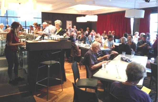Politics in the Pub returns to the Harold Park Hotel (image: William Paauwe)