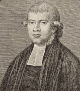 Rev Richard Johnson, image from State Library of NSW