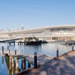 Sydney Fish Markets from rowing club