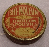 Patented in 1909, one of the Jacobs family's popular household products. Tins could be returned to the retailer for refilling. (image: National Museum of Australia)