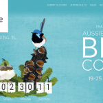 Screenshot of Birdlife Australia's webpage for the Spring Bird Count 2020