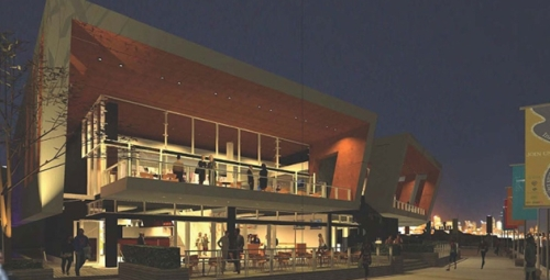 Artist's impression showing nightlife at the Sydney Superyacht Marina. What will the noise impact be?? (Source: http://www.superyachtmarina.com.au)