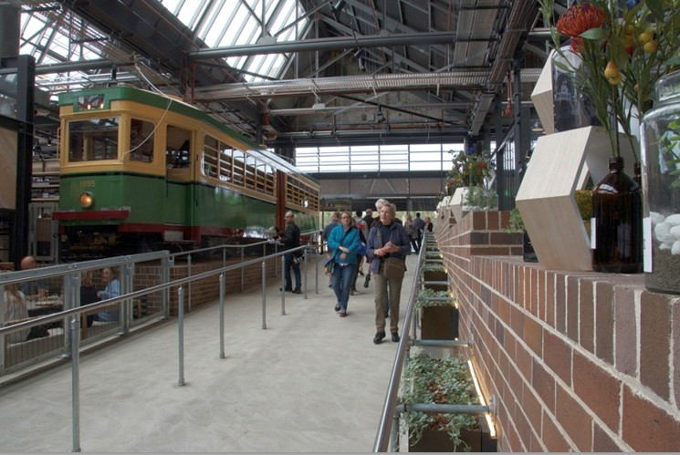 The recently  re-opened Tramsheds (image: Phillip Vergison)