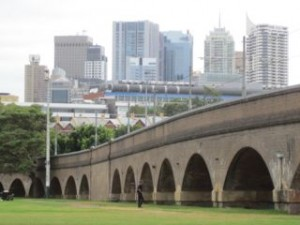 Wentworth Park viaduct