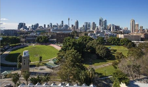 Wentworth Park – the 'heart of Glebe' (Photo: Dictionary of Sydney)