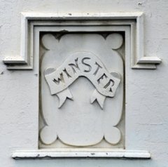 A detail from the house, Winster, at 38 Boyce St. (photo: Phil Young)