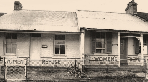 Elsie, Australia's first women's refuge, in the mid 1970s. (Image: Fairfaxsyndication.com)