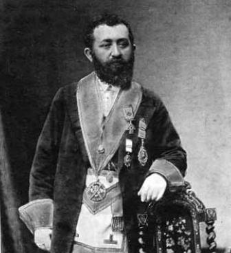 David Mitchell, ca 1881, a founding member of Glebe Masonic Lodge 1944