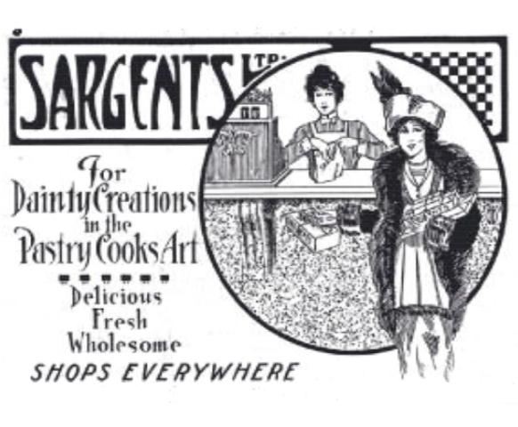 Advertisement from Australasian Baker 1915