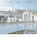 Blackwattle Bay Precinct Planning Scenario 1 (photo: Infrastructure NSW)