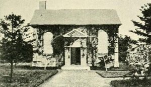 The Toxteth Park Chapel where Josiah and Sarah Slater's children were baptised. It was demolished in 1903.