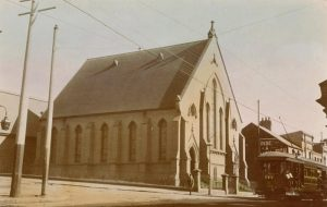 The Methodist Church on Glebe Point Rd where the Morison family worshipped.